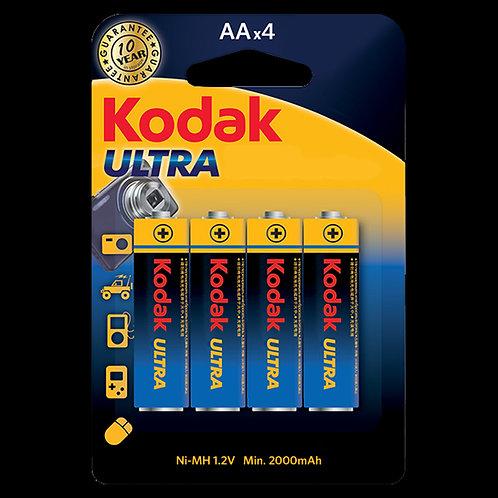 AA Rechargeable 4PK