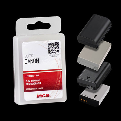 Inca Canon Rechargeable Camera Battery