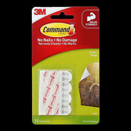 Command Poster Strips 12PK