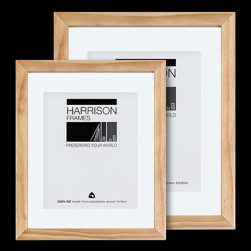 Small Flat Clear Matted Frame