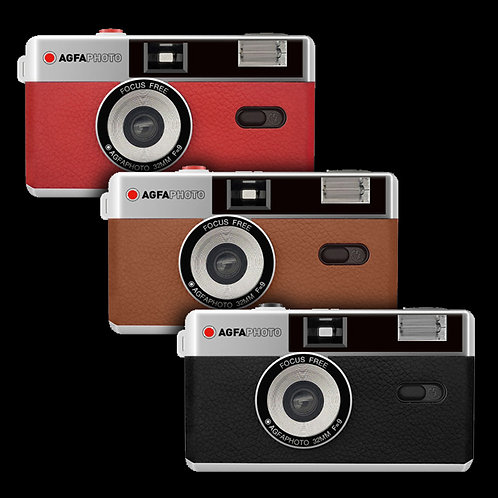 Agfa Reusable 35mm Film Camera