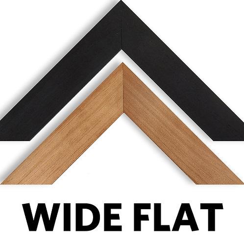 Wide Flat Custom Framing