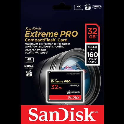 SanDisk Extreme Pro Compact Flash