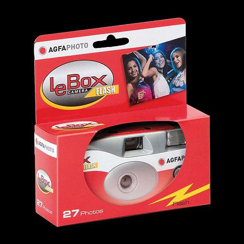 Agfa Le Box Flash One Time Use Camera