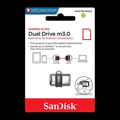 SanDisk Ultra Dual USB 3.0/Micro USB Flash Drive