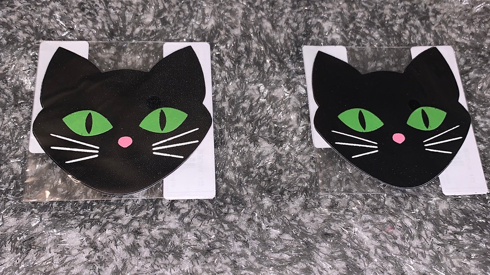 Black Cat Nipple Covers