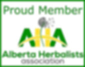Alberta Herbalists Association Logo