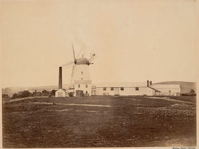 Riversdale Flour Mill on the Barwon at C