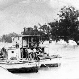 P.S. Cato The 'P.S. Cato' with barge 'Al