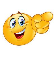 pointing-forward-emoticon-vector-2365777