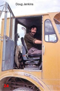 24 1981 AEC driver Doug Jenkins