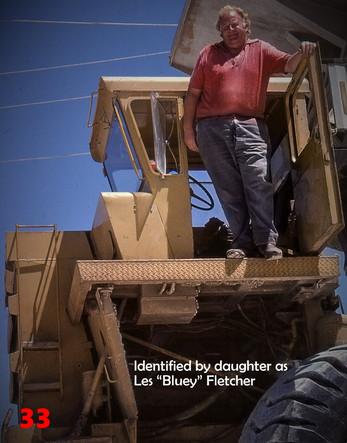33 1981 47 CAT  heavy haulers driver Les