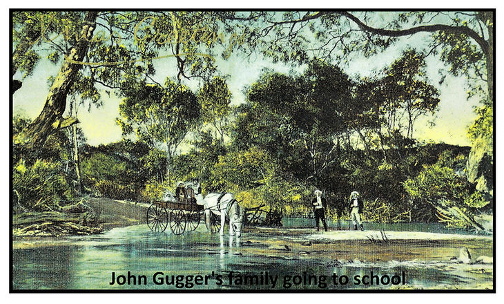 John Gugger's family going to school.jpg