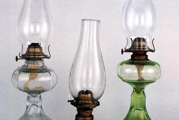 Kerosine lamps were the go