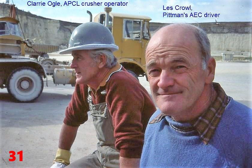 31 1981 Quarry friends- Clarrie Ogle (L-