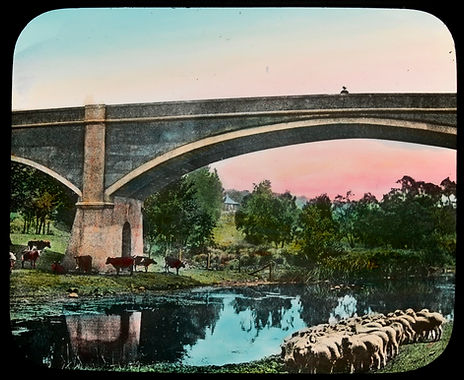 A hot Day, Fyansford Bridge, Geelong Und