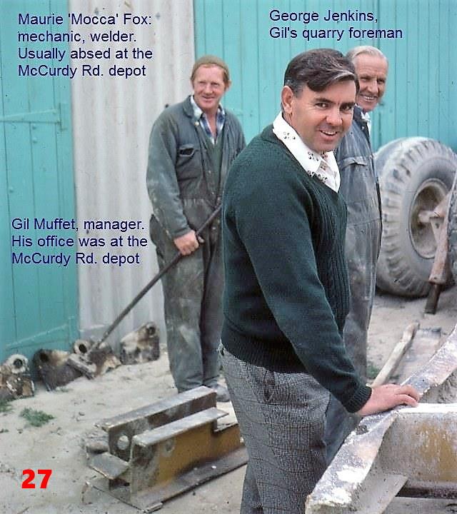 27 1981 A.Pittman's quarry staff