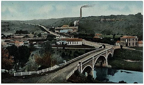 1910 Ca Fyans Ford, Hill & Cement Works,