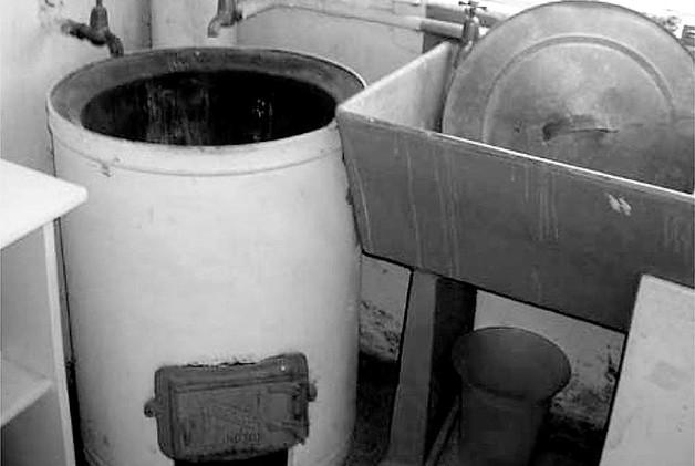 Copper boiler and trough