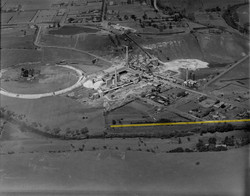 1938 Aerial view of Fyansford