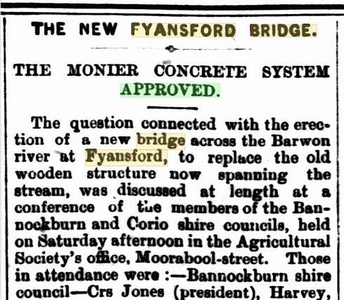 The new Fyansford Bridge.JPG