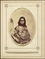 Portrait of a young Victorian Aboriginal