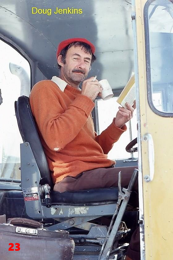 23 1981 AEC driver Doug Jenkins