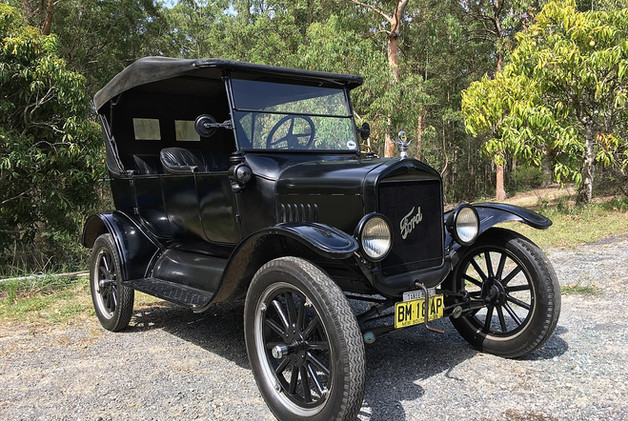 Gramp had one of the first T-Model fords