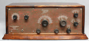 We had a radio with a large rechargable battery