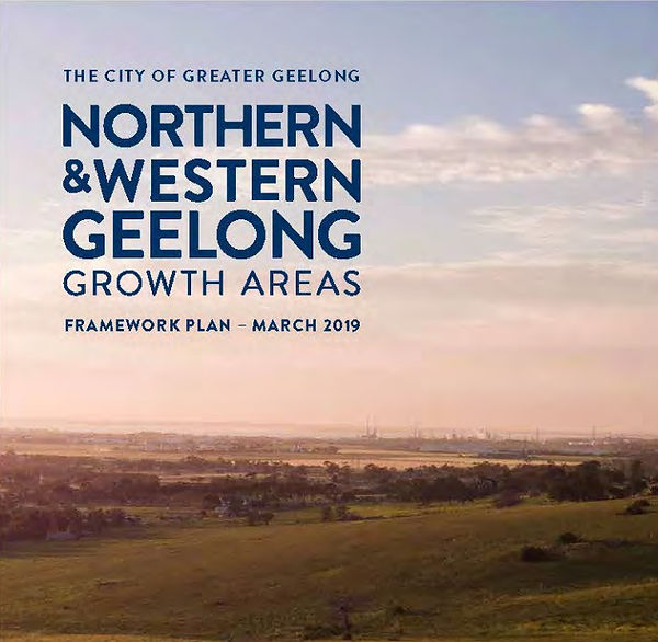 Northern & Western Geelong Growth Areas.