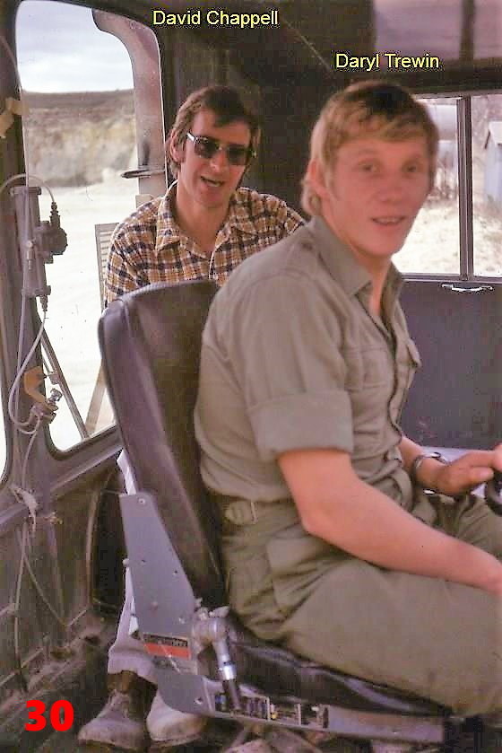 30 1981 AEC drivers David Chappell (sic)
