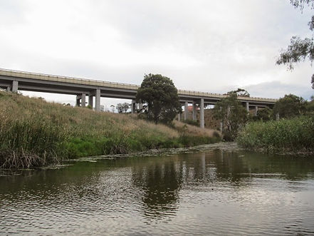 Lewis Bandt Bridge, Geelong Ring Road.JP