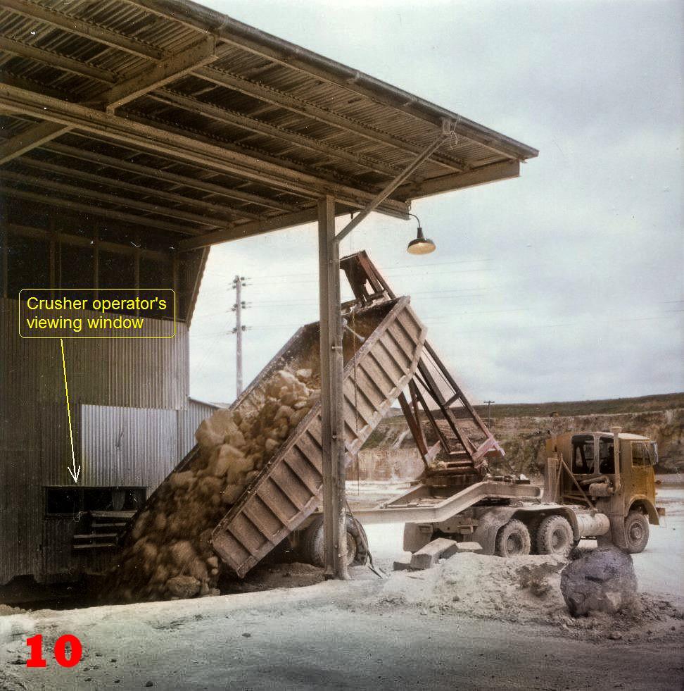 10 1979 AEC depositing quarried stone in