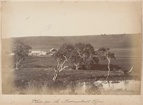 View on Moorabool River, Fred Kruger..jp