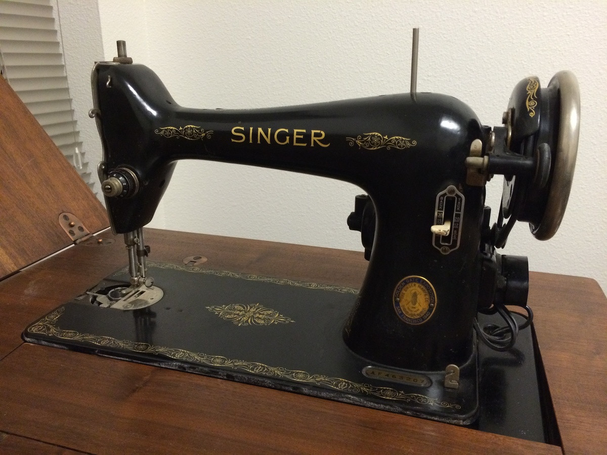 Mum had a Singer sewing machine