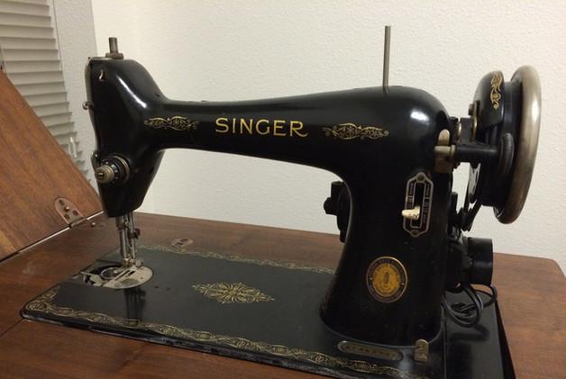 Mum had a Singer sewing machine