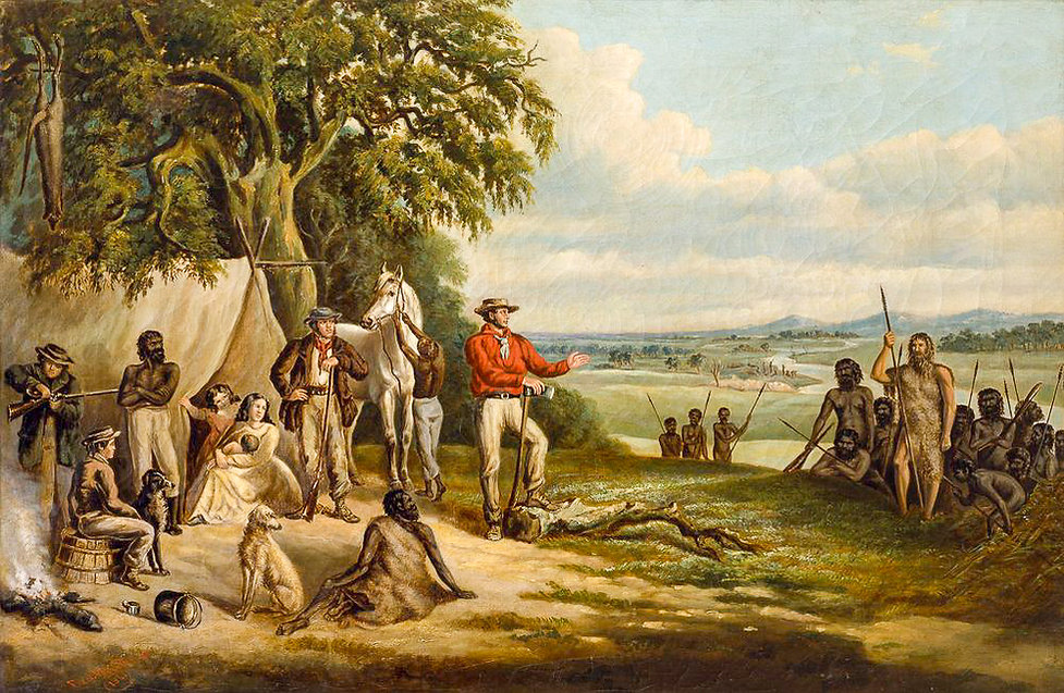 The First Settlers discover Buckley F Wo