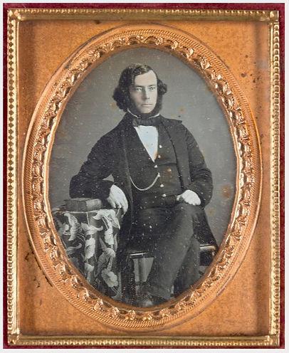 Portrait of the artist Charles Norton Ca