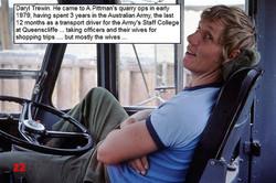 22 1981 AEC driver Daryl Trewin