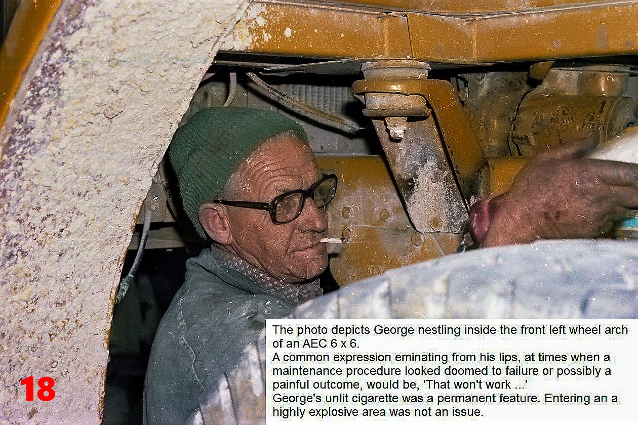 18 1981 Pittman's foreman George Jenkins