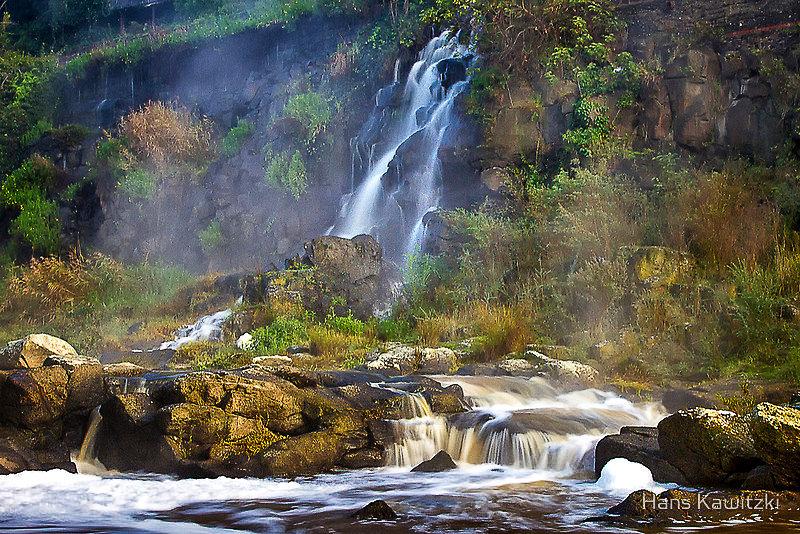 Paper Mill falls  Barwon Riverby Hans Ka