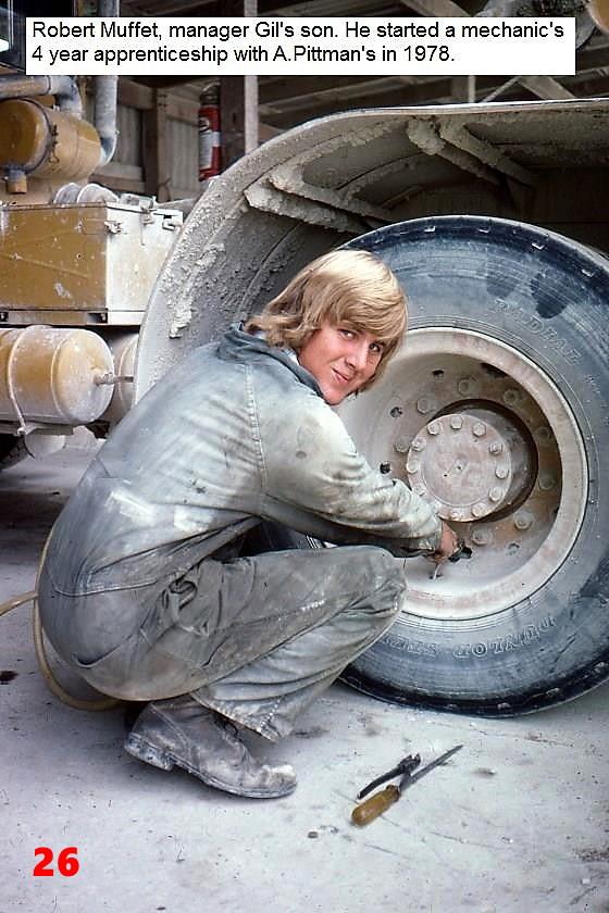 26 1981 A.Pittman's apprentice Robert Mu