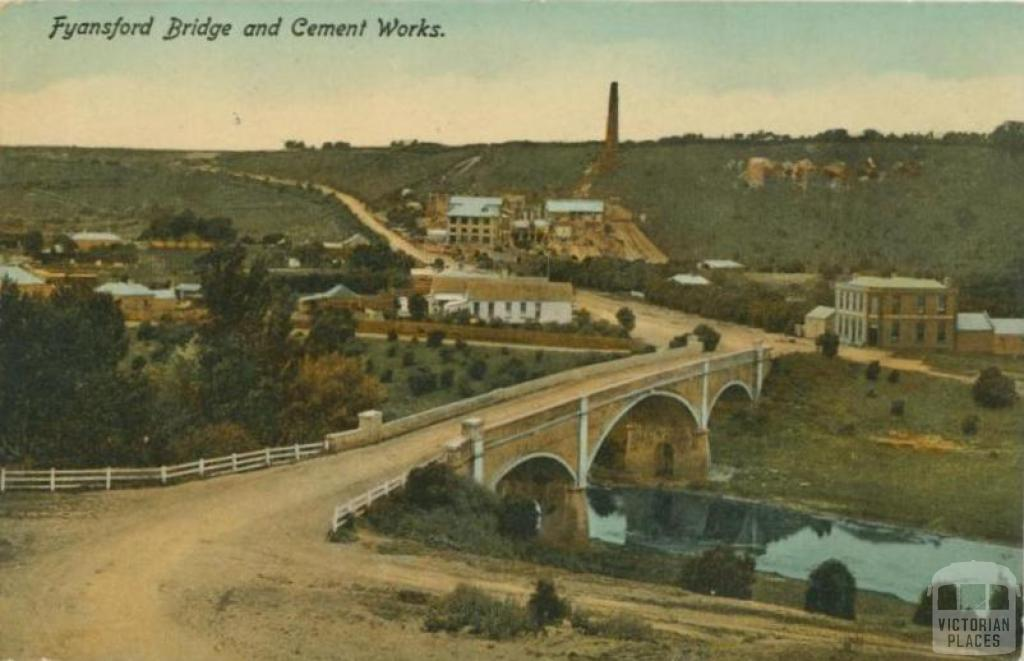1901 Ca Fyansford Bridge and Cement Work