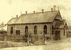 Ca 1947 St Luke's church