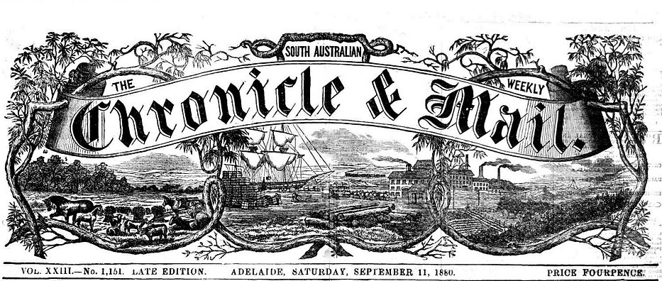 South Australian Chronicle and Weekly Ma