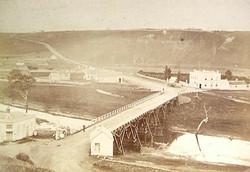 1892 Fyansford's first bridge
