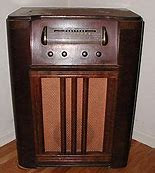 We used to sit around the big radio
