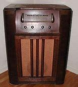 We used to sit around the big radio
