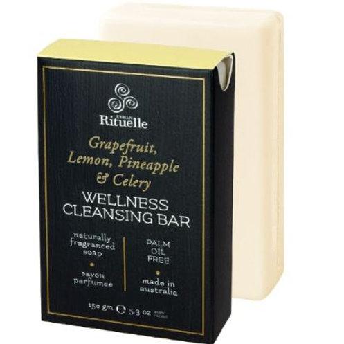 Wellness Cleansing Bar - Grapefruit, Lemon, Pineapple & Celery