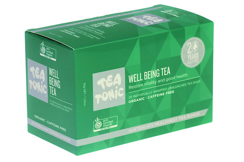 Wellbeing Tea Teabags